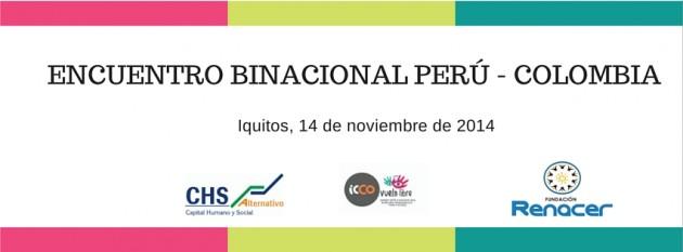 Encuentro Binacional Perú - Colombia facebook cover